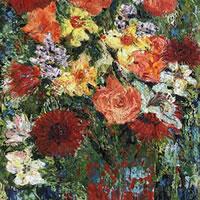 Spring Flowers – Grainne Roche – Fine Artist – Byfleet Art Group – Woking Society of Arts – Surrey Art Gallery