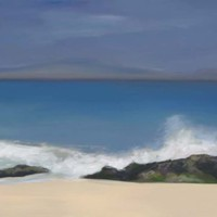 Surf and Sea – John Dumigan – Oils, Pastels and other Media – Contemporary Art, Landscapes and Abstract – Surrey Artists Gallery