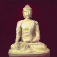 Temple Buddha – John Dumigan – Oils, Pastels and other Media – Contemporary Art, Landscapes and Abstract – Surrey Artists Gallery