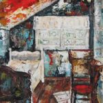 The Attic – Grainne Roche – Fine Artist – Byfleet Art Group – Woking Society of Arts – Surrey Art Gallery