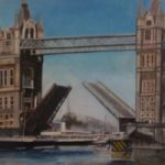 Tower Bridge London With Paddle Steamer – Rodney Thomas Annetts – Woking Society Of Arts – Surrey Artists Gallery
