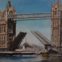 Tower Bridge London-Rodney Thomas Annetts