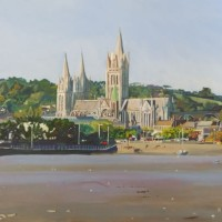 Truro Cathedral, Cornwall – Rodney Thomas Annetts – Woking Society Of Arts – Surrey Artists Gallery