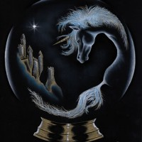 Unicorn – Dreamscape – Fantasy Art and People, Pet and Horse Portraits – Jane Disney – Frimley and Camberley Society of Arts – Surrey Art Gallery