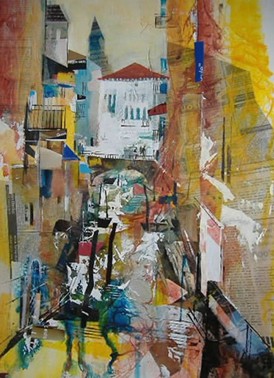 Venice - Nagib Karsan - Artist in Watercolours, Mixed Media and Collage - Buckingham Fine Art Publishers Ltd