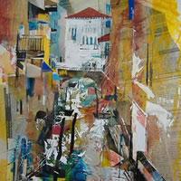 Venice – Nagib Karsan – Artist in Watercolours, Mixed Media and Collage – Buckingham Fine Art Publishers Ltd