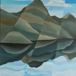 Wast Water – Lake District – Abstract – Tiffany Budd – Fine Artist – The National Acrylic Painters Association – Surrey Artists Gallery
