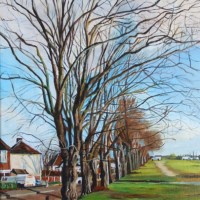 Winter Trees – Rodney Thomas Annetts – Woking Society Of Arts – Surrey Artists Gallery