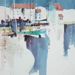 Woodbridge Suffolk – Kim Page – Paintings in Watercolour and Oil – Surrey Art Gallery – England
