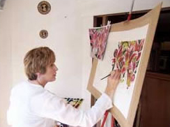 artist at work-susie lidstone