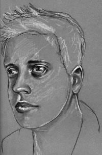 richard johnson self-portrait