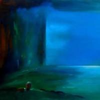 Abstract Art – Cinema Space – Surrey Artist Alan Brain – Paintings in Watercolour and Acrylic and Art Teacher – Farnham Art Society, Sunningdale Art Society, Woking Art Society