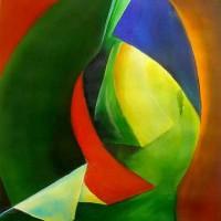 Abstract Art – Journey – Surrey Artist Alan Brain – Paintings in Watercolour and Art Teacher – Farnham Art Society, Sunningdale Art Society, Woking Art Society