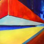 Abstract Art – Weight – Surrey Artist Alan Brain – Paintings in Watercolour and Acrylic and Art Teacher – Woking Art Society