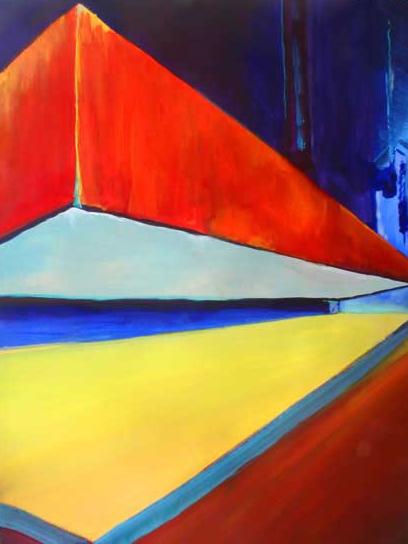 Abstract Art - Weight - Surrey Artist Alan Brain - Woking Art Society