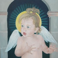 Angel – Ruby – Mark Dorsett – Watercolour and Oil Paintings – Littleton Artists Group