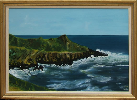 Ballycottin Bay, Cork, Republic of Ireland - Florenca (June Martin) - Surrey Artists Gallery
