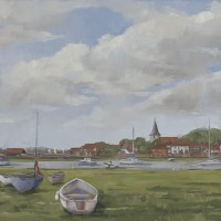 Bosham – West Sussex – England – Mark Dorsett – Watercolour and Oil Paintings – Littleton Artists Group