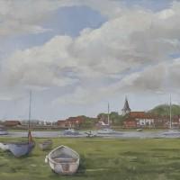 Bosham – West Sussex – England – Mark Dorsett – Watercolour and Oil Paintings – Littleton Artists Group