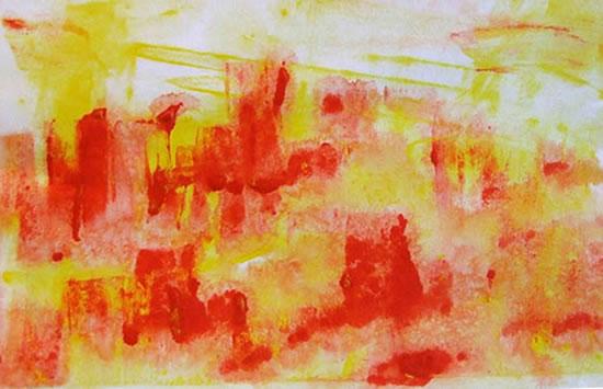Contemporary Art - Dawn Commute - Cate Field - Acrylics and Digital Artist, Art Teacher and Tutor - Surrey Artists Gallery
