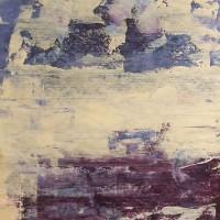 Contemporary Art – Storm Clouds Rising – Cate Field – Acrylics and Digital Artist, Art Teacher and Tutor – Surrey Artists Gallery