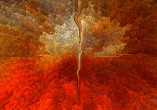 Digital Art - Twirl - Anthony McNamee (aka blamo) - Master Silkscreen Printer - Surrey Artist - FESPA Screen-Printing Association and PRISM Digital Association
