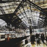 Digital Art – Waterloo Station – Cate Field – Digital Artist, Art Teacher and Tutor – Surrey Artists Gallery
