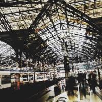 Digital Art – Waterloo Station – Cate Field – Digital Artist, Art Teacher and Tutor – Surrey Artists Gallery