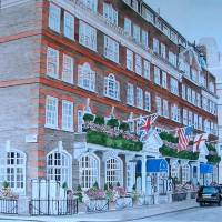 Goring Hotel, London SW1 – David Fisher – Commissions – Detailed Caricatures, Portrait & Landscape Artist – Surrey Gallery