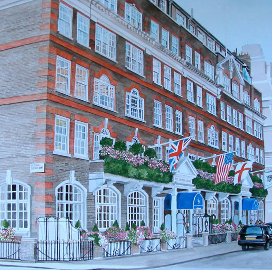 Goring Hotel, Victoria Square, London SW1 - David Fisher - Commissions - Detailed Caricatures, Portrait & Landscape Artist - Surrey Gallery