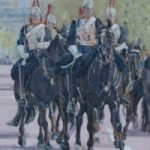 Household Cavalry I – Mark Dorsett – Watercolour and Oil Paintings – Littleton Artists Group