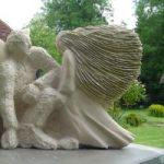 Limestone Sculpture – Guidance – Zeljko Ivankovic (Jericho) – Sculptor and Artist – Surrey Sculpture Society