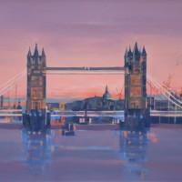 London – Tower Bridge – English Landmark – Mark Dorsett – Watercolour and Oil Paintings – Littleton Artists Group