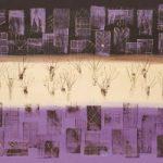 Manhattan Purple – Ali Cockrean – National Acrylic Painters' Association – Surrey Artists