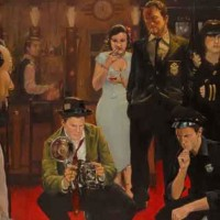 Movies – Ice Cold Under the Skin – Sussex Artist – William E. Rochfort – Fine Art Oil Paintings and Limited Edition Fine Art Prints
