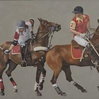Polo Match, England – Mark Dorsett – Watercolour and Oil Paintings – Littleton Artists Group