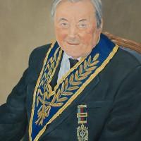 Portrait Commission – Walter – Mark Dorsett – Watercolour and Oil Paintings – Littleton Artists Group