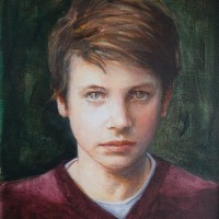 Portrait of William – Iain White – Surrey Artist – Portraits and other Paintings in Acrylic, Pastel and Conte