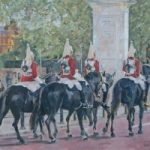 Household Cavalry II – Mark Dorsett – Watercolour and Oil Paintings – Littleton Artists Group