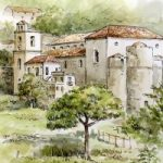 Scala from Ravello – Amalfi Coast, Italy – Malcolm Surridge – Artist – Landscape Paintings – Surrey Artists Gallery