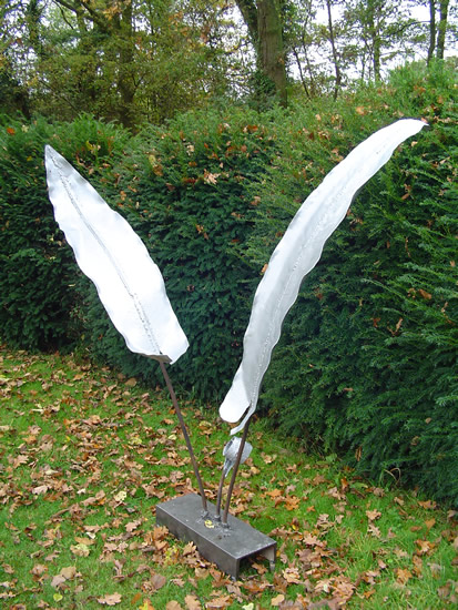 Sculpture - Fern - Zeljko Ivankovic (Jericho) - Sculptor and Artist - Surrey Sculpture Society