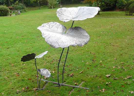 Sculpture - Ground Ivy - Zeljko Ivankovic (Jericho) - Sculptor and Artist - Surrey Sculpture Society