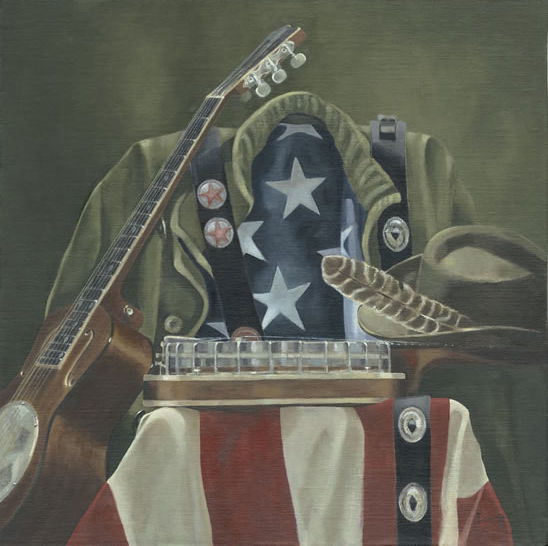 Still Life - Americana - Mark Dorsett - Watercolour and Oil Paintings - Littleton Artists Group