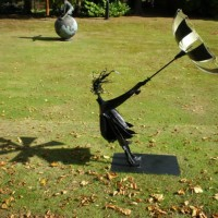 The Wind and a Girl with Umbrella – Zeljko Ivankovic (Jericho) – Sculptor and Artist – Surrey Sculpture Society