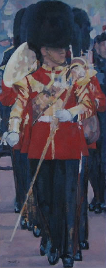 Trooping the Colour - British Tradition - Mark Dorsett - Watercolour and Oil Paintings - Littleton Artists Group