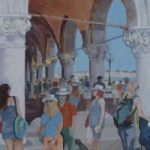 Venice, Italy Scene – Mark Dorsett – Watercolour and Oil Paintings – Littleton Artists Group