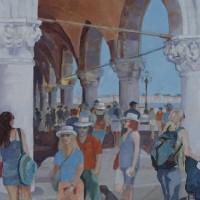 Venice, Italy Scene – Mark Dorsett – Watercolour and Oil Paintings – Littleton Artists Group