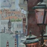 Venice Lamps, Italy – Mark Dorsett – Watercolour and Oil Paintings – Littleton Artists Group