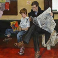 Waiting Room – Sussex Artist – William E. Rochfort – Fine Art Oil Paintings and Limited Edition Fine Art Prints