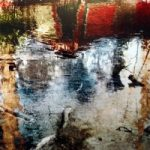 Water with Red Boat I – Surrey Artist Christiane Zschommler – Fine Art Photography